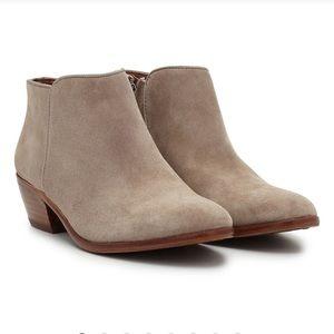 Sam Edelman petty ankle boots tan putty 8